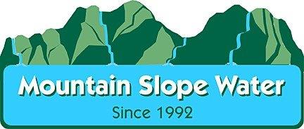 Mountain Slope Water Mobile Logo